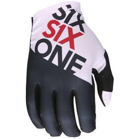 SixSixOne Raji fietshandschoenen Heren wit/zwart